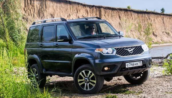 УАЗ Патриот 2018 с новым двигателем 170 л.с новый кузов