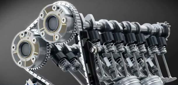 как работает двигатель