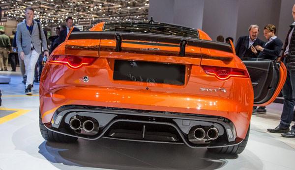 jaguar svr coupe 2017