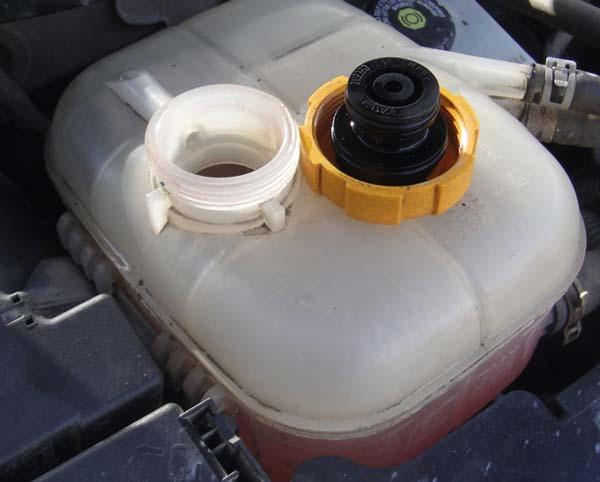 замена охлаждающей жидкости приора
