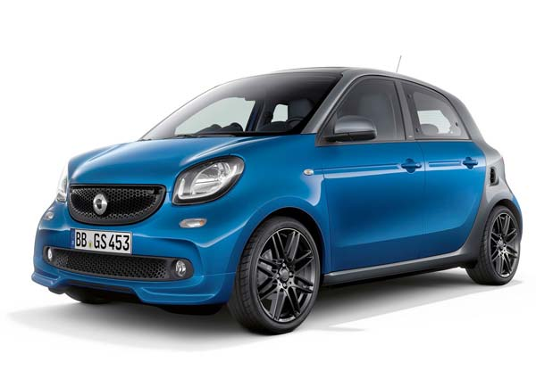 smart forfour 2019 года