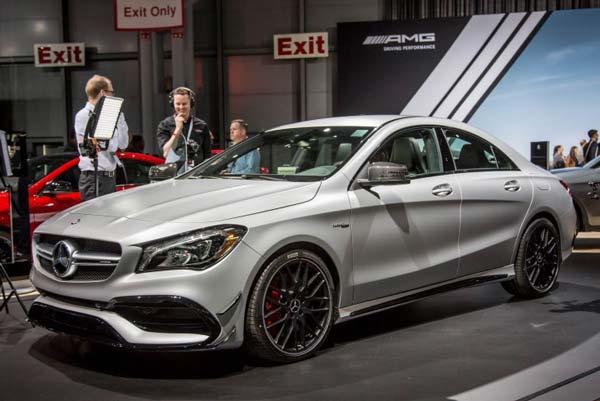 Четырехдверное купе Mercedes-Benz CLA может дебютировать в Детройте 36