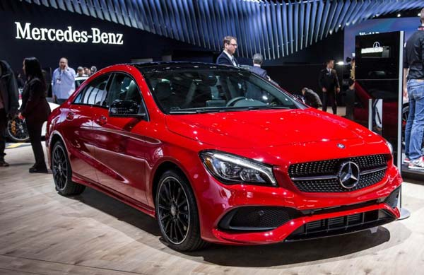 mercedes benz cla класс 2019 года