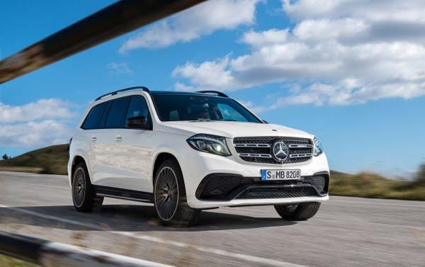 mercedes benz gls 2019 года