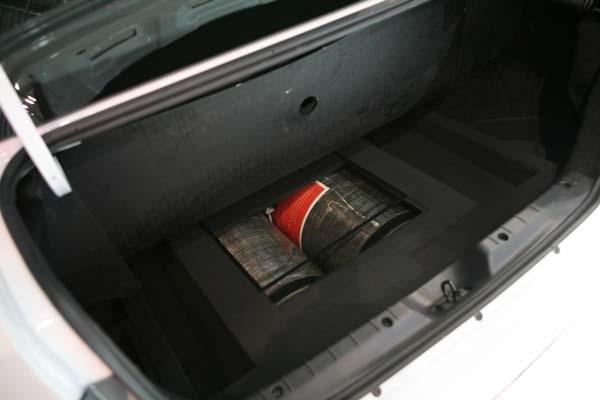 место в багажнике