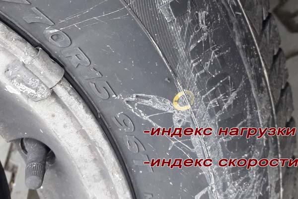где указано на шине