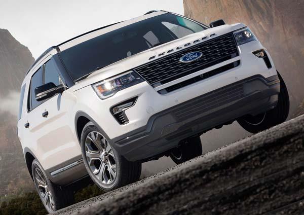 новый ford explorer 2019