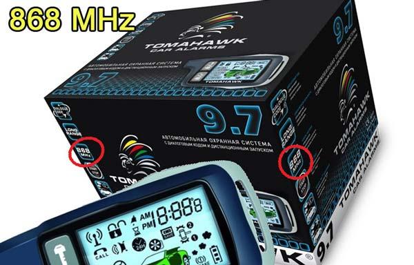 томагавк 868 mhz frequency