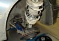 Замена пружины передней подвески